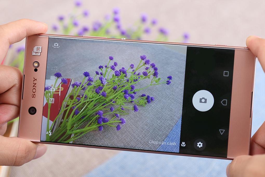 Camera được Sony chăm chút đem lại chất lượng tốt