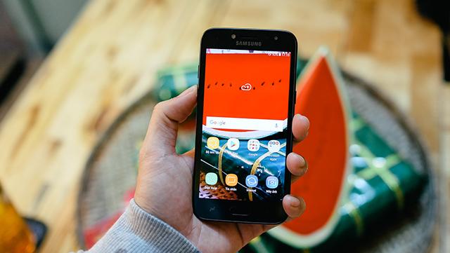 Thiết kế điện thoại Samsung Galaxy J2 Pro (2018)
