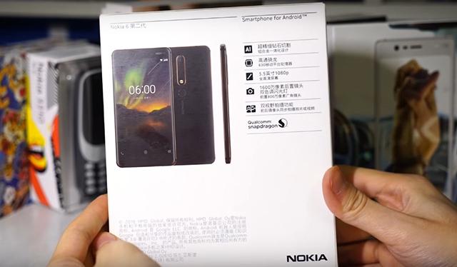 Cấu hình điện thoại Nokia 6.1