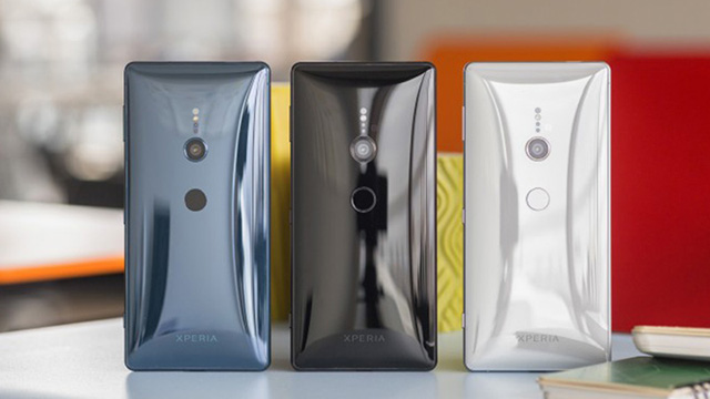 Thiết kế điện thoại Sony Xperia XZ2