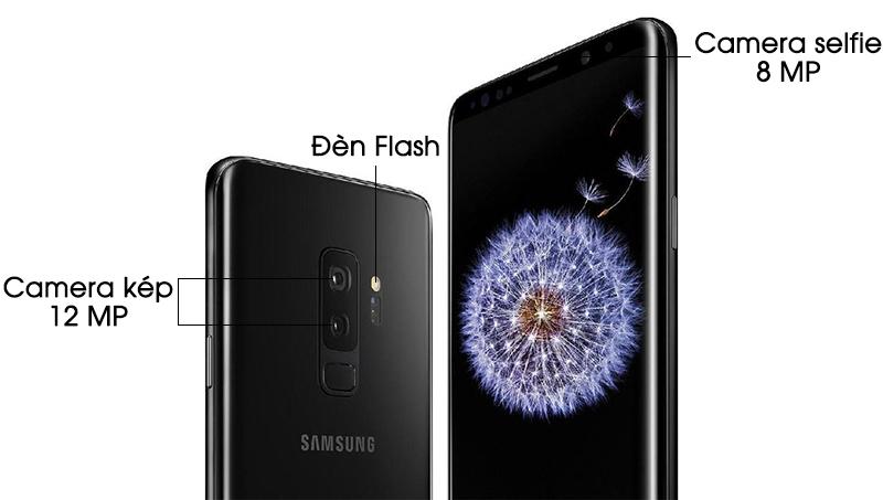 Camera điện thoại Samsung Galaxy S9 Plus