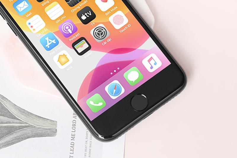 Hình ảnh hiển thị trên iPhone SE 2020