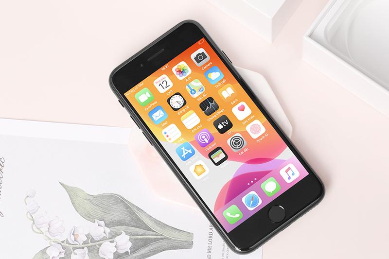 Các ứng dụng được tải trên điện thoại iPhone SE (2020)