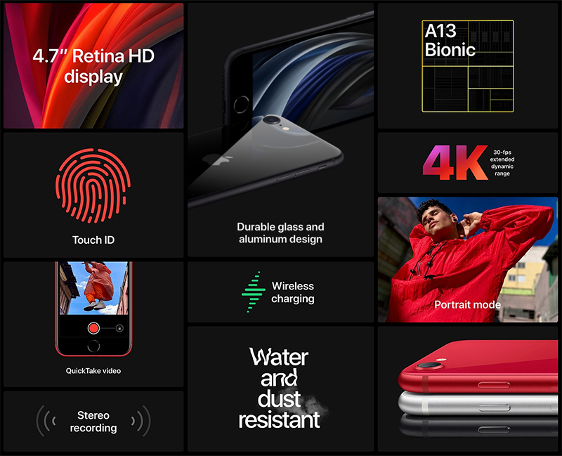 Điện thoại iPhone SE (2020)