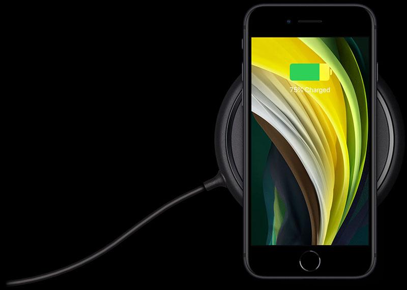 Sạc không dây trên điện thoại iPhone SE (2020)