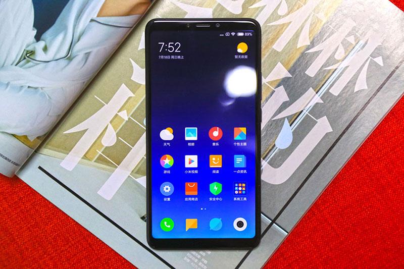 Thiết kế điện thoại Xiaomi Mi Max 3