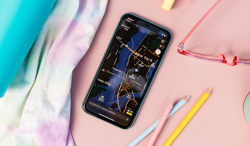 Điện thoại iPhone 11 64GB | Giao diện Dark Mode
