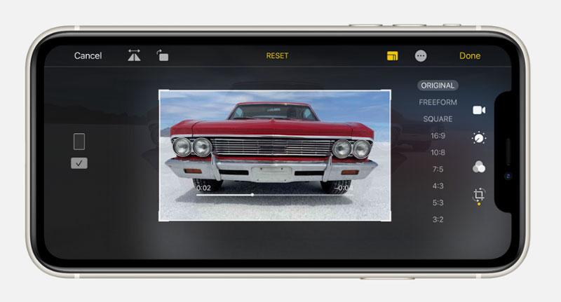 Điện thoại iPhone 11 64GB | Giao diện chụp ảnh