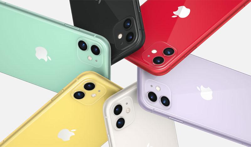 Điện thoại iPhone 11 64GB | Thiết kế nhiều màu sắc
