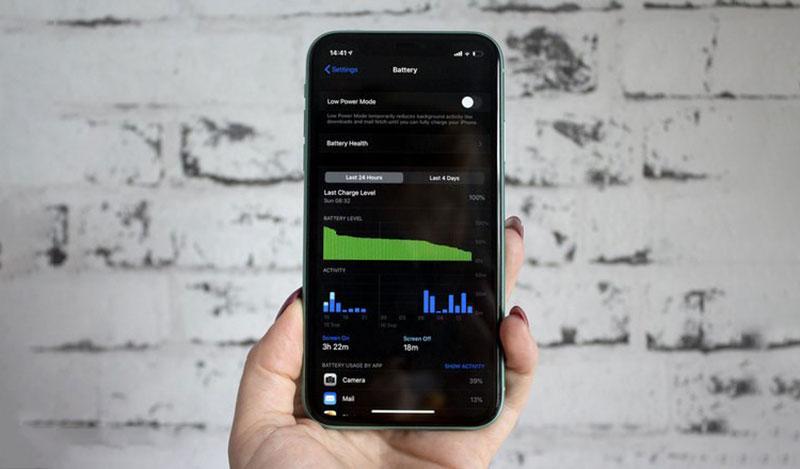Điện thoại iPhone 11 64GB | Thời lượng pin