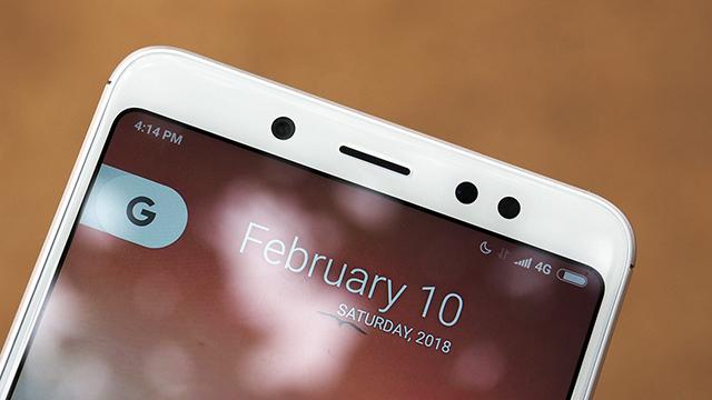 Camera trước điện thoại Xiaomi Redmi Note 5
