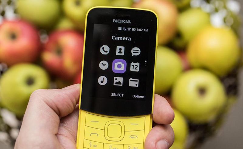 Giao diện điện thoại Nokia 8110 4G