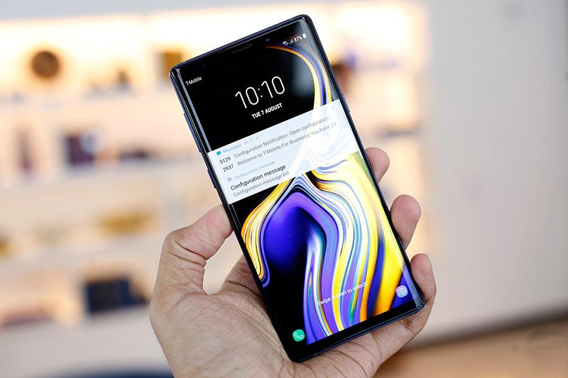 Cấu hình của điện thoại Samsung Galaxy Note 9