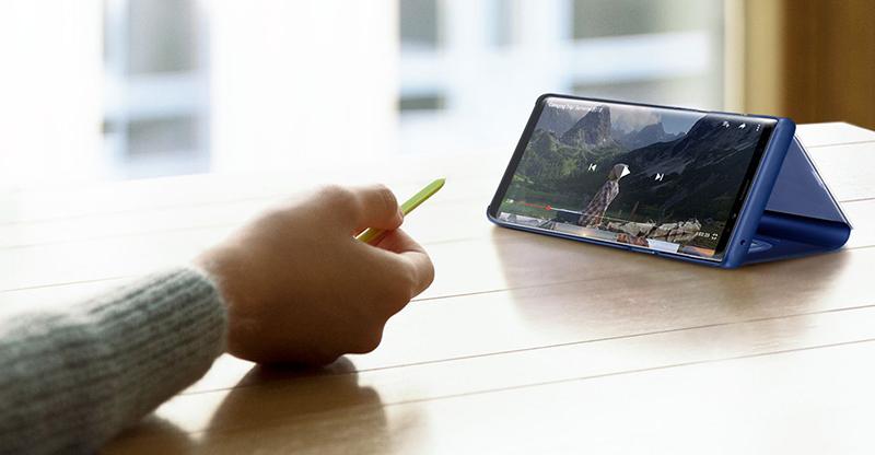 Điều khiển bút S Pen trên điện thoại Samsung Galaxy Note 9