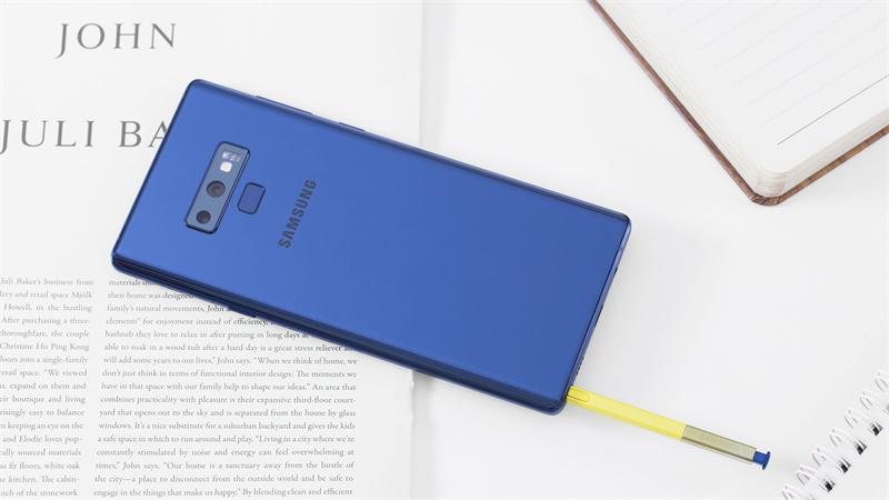 Bút S Pen trên điện thoại Samsung Galaxy Note 9