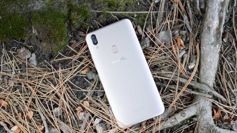 Giao diện camera điện thoại Vivo V9