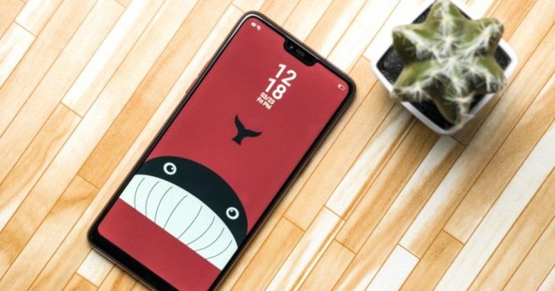 Thiết kế điện thoại OPPO F7