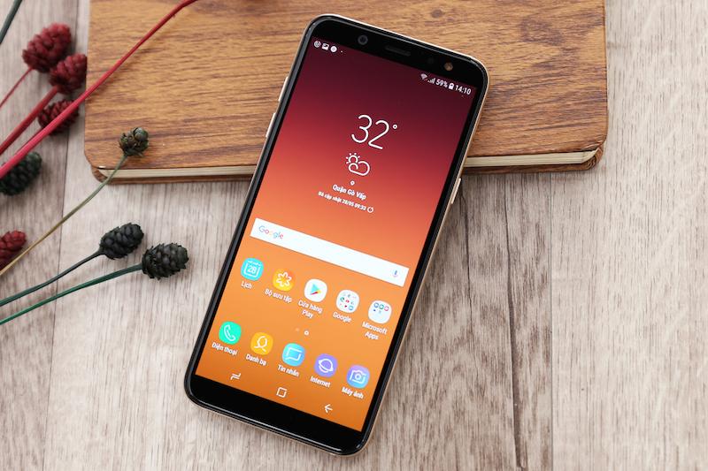 Màn hình điện thoại Galaxy A6 2018