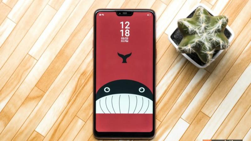 OPPO F7 128GB - កម្លាំងម៉ាស៊ីនបានតម្លើងច្បាស់ក្រឡែក | BigPhone.com