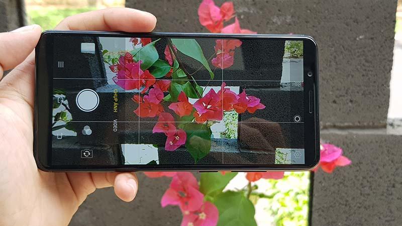 Giao diện camera điện thoại Vivo Y71