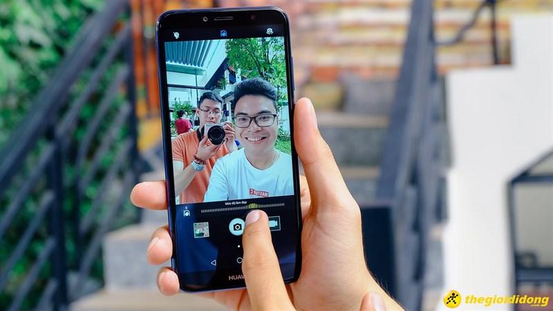 Camera selfie điện thoại Huawei Y6 Prime 2018