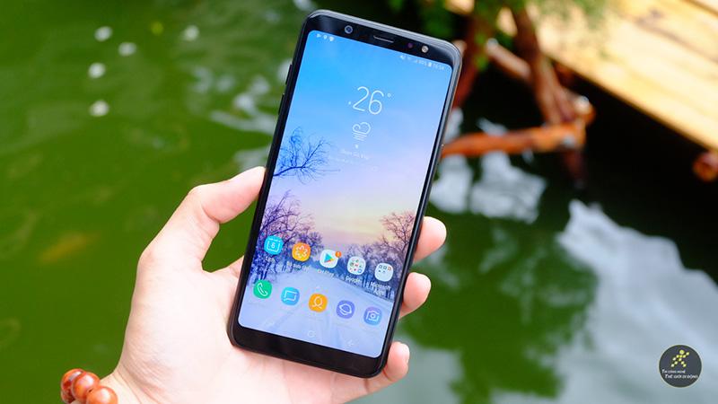 Màn hình điện thoại Samsung Galaxy A6+ (Plus)