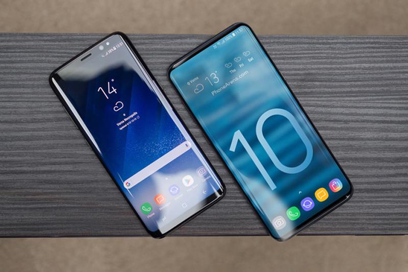 Phone - ទូរស័ព្ទ Samsung Galaxy S10 - រចនា