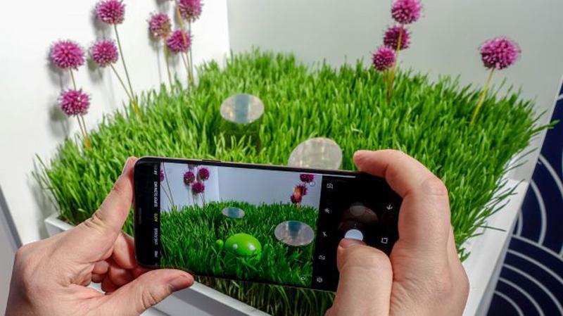 Phone - ទូរស័ព្ទ Samsung Galaxy S10 - កាមេរ៉ា