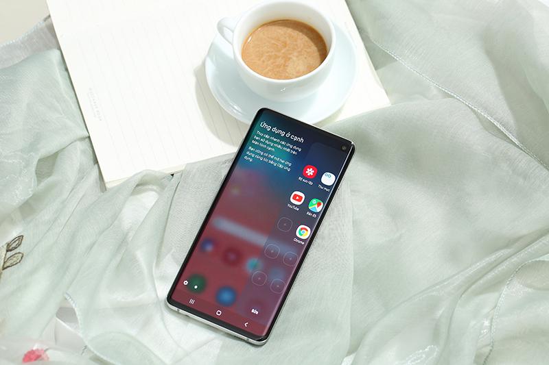 Giao diện Android trên Galaxy S10 chính hãng