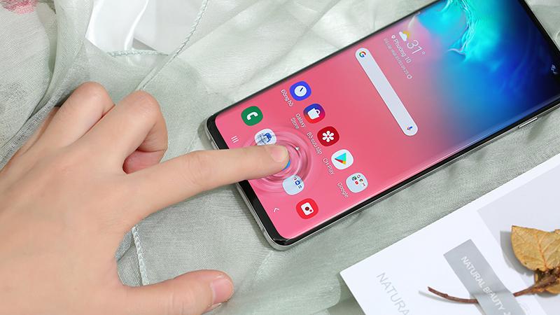 Vân tay siêu âm Samsung Galaxy S10 chính hãng