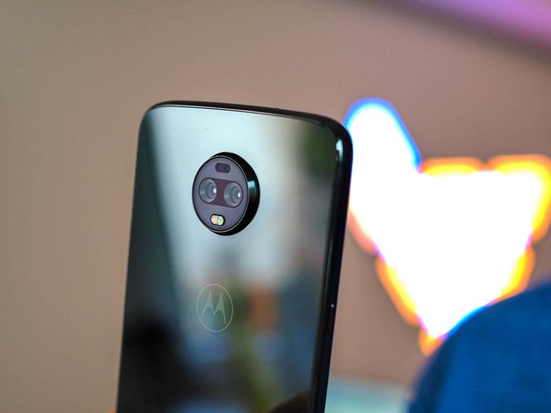Camera sau của điện thoại Moto Z3