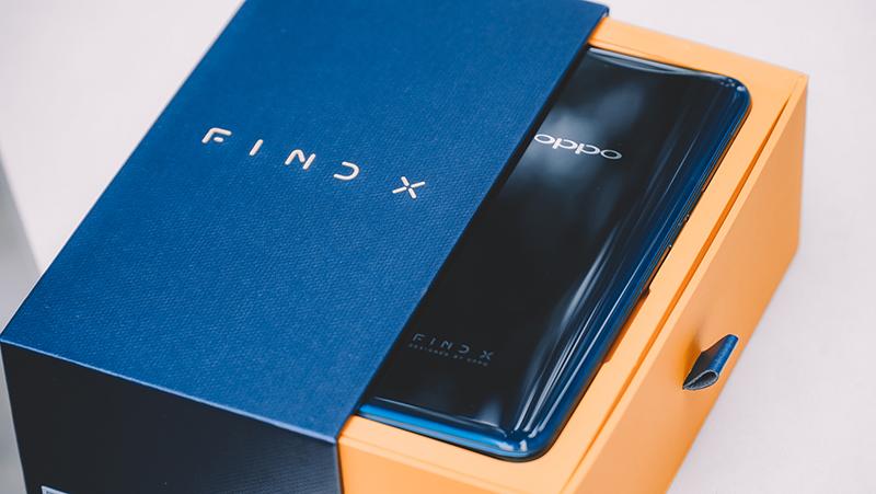 Thiết kế điện thoại OPPO Find X