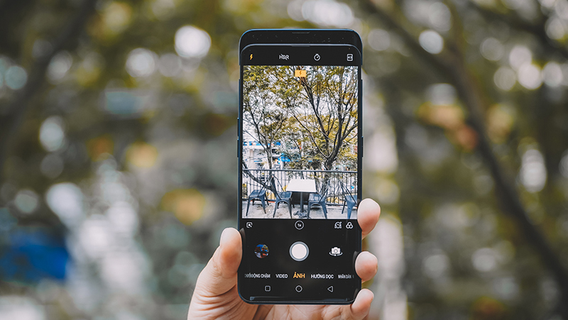 Khả năng chụp hình camera sau trên điện thoại OPPO Find X