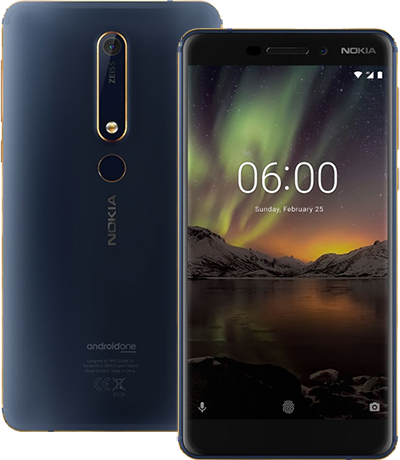 Điện thoại Nokia 6.1 64GB