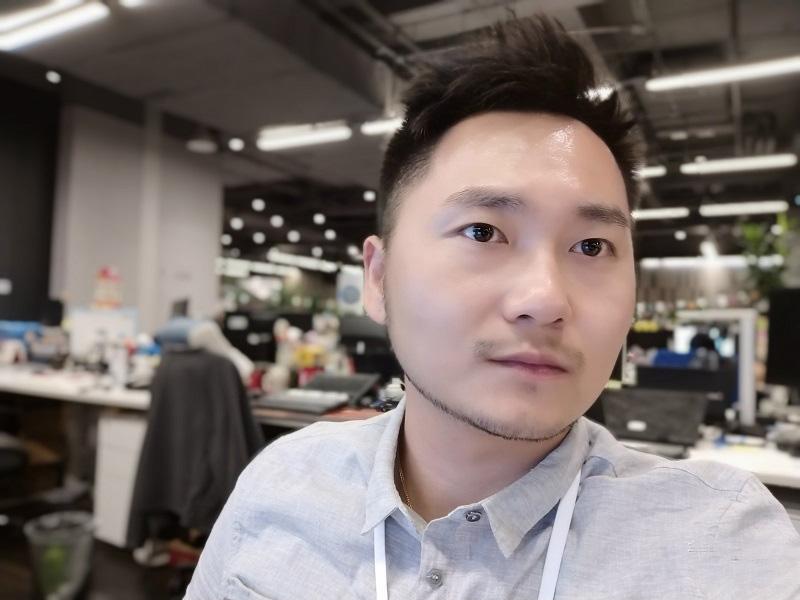 Ảnh selfie từ Samsung Galaxy A8 Star