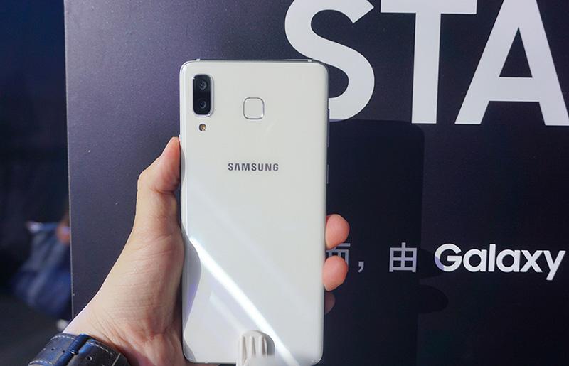 Phone - ទូរស័ព្ទ Samsung Galaxy A8 Star - កាមេរ៉ា