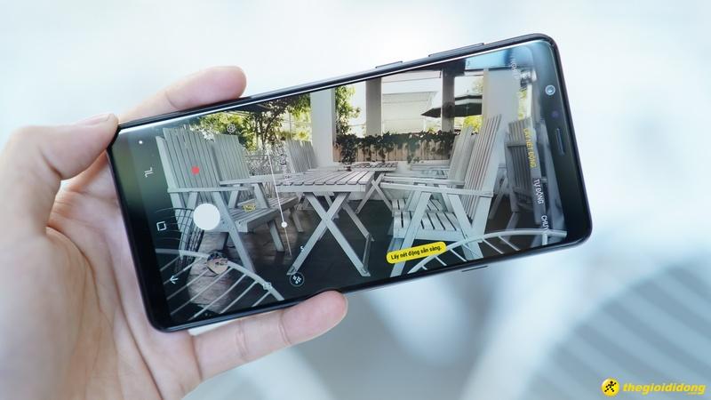 Giao diện camera của điện thoại Samsung Galaxy A8 Star