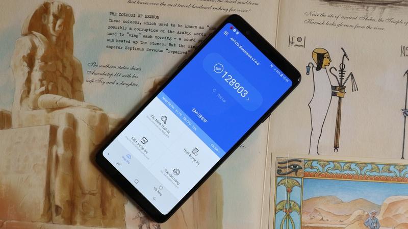 Chơi game liên quân trên điện thoại Samsung Galaxy A8 Star