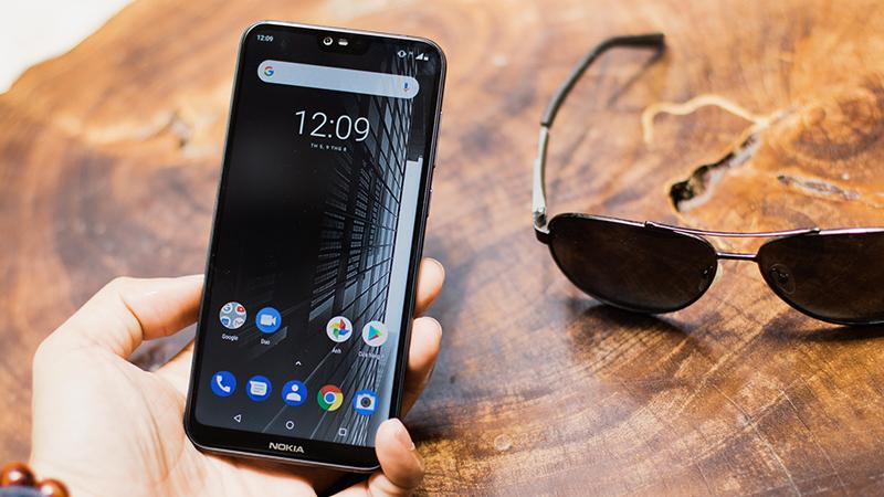 Thiết kế điện thoại Nokia 6.1 Plus (Nokia X6 2018)