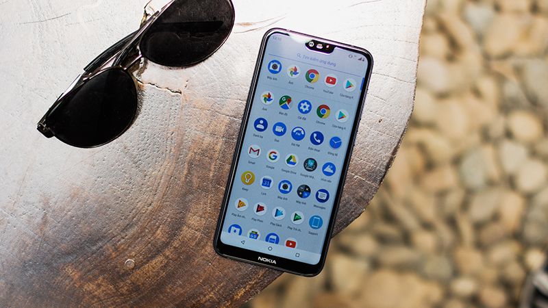 Giao diện Android trên điện thoại Nokia 6.1 Plus (Nokia X6 2018)