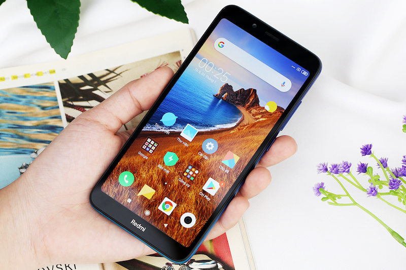 Điện thoại smartphone Xiaomi Redmi 7A | Thiết kế màn hình