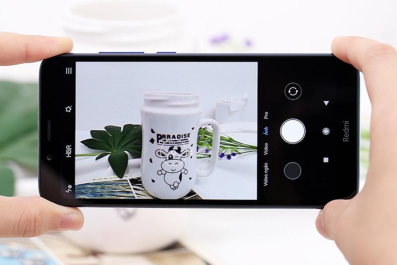 Điện thoại smartphone Xiaomi Redmi 7A | Giao diện chụp ảnh