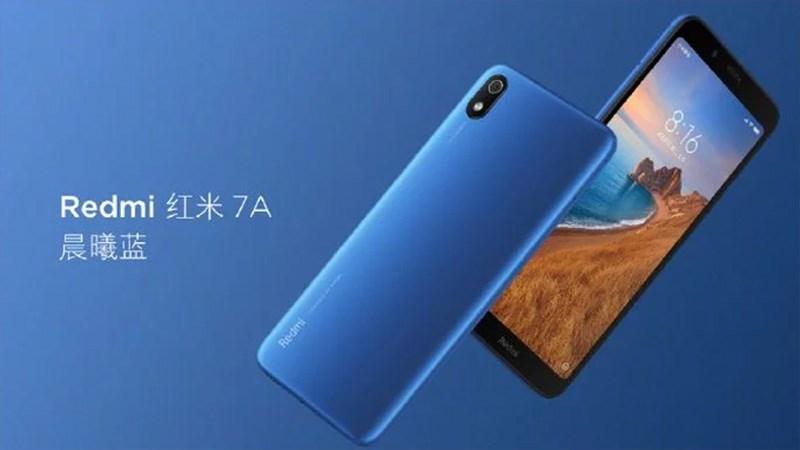 Camera sau của điện thoại Xiaomi Redmi 7A chính hãng