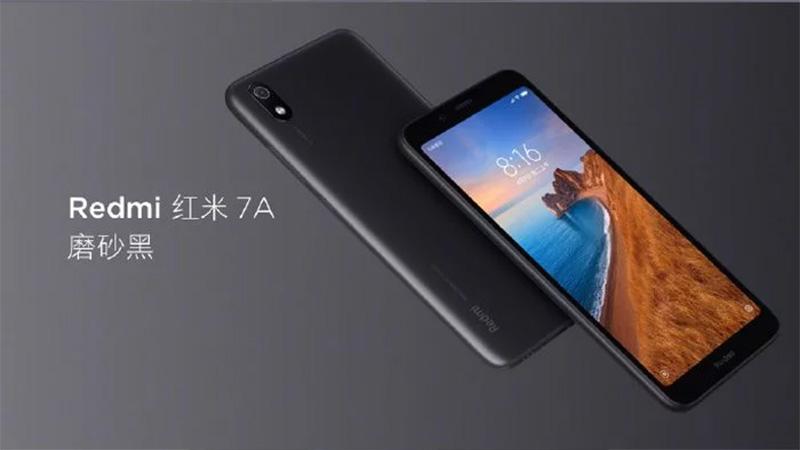Màn hình của điện thoại Xiaomi Redmi 7A chính hãng