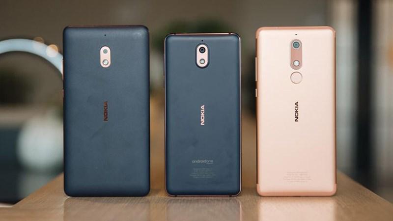 Thiết kế của điện thoại Nokia 3.1