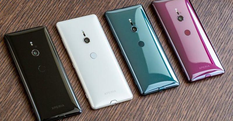 Màu sắc điện thoại Sony Xperia XZ3