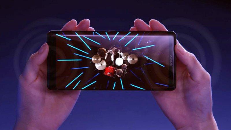 Điện thoại Sony Xperia XZ3 có âm thanh vượt trội