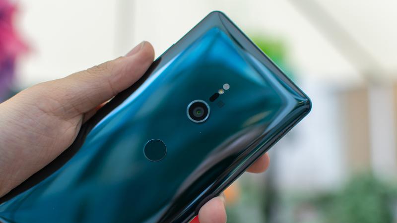 Cụm camera sau trên điện thoại Sony Xperia XZ3