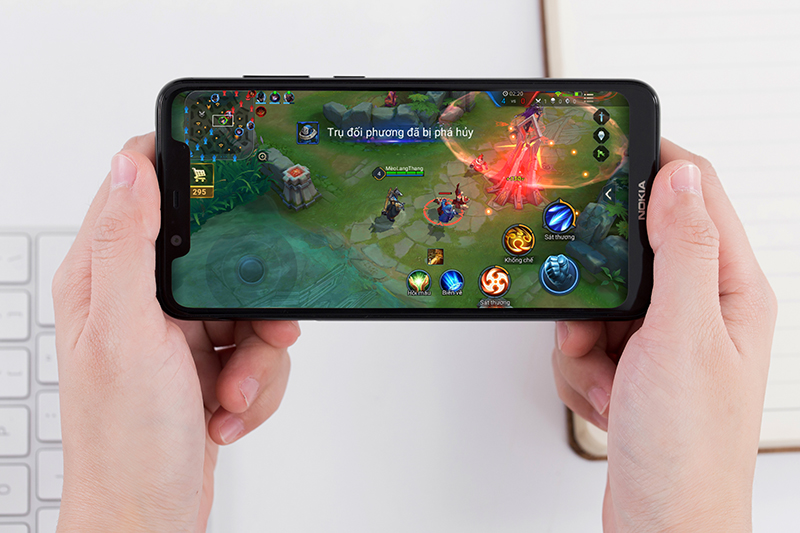 Khả năng chơi game trên Nokia 5.1 Plus
