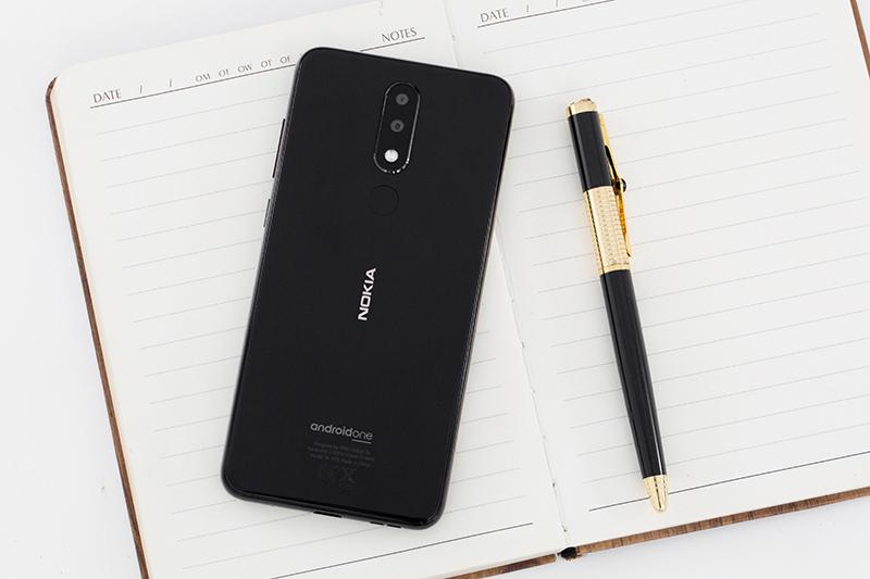 Camera phía sau trên Nokia 5.1 Plus